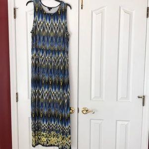 J. Jill Wearever Collection sleeveless maxi dress
